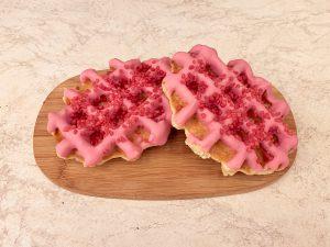 Wafel deluxe aardbeien suiker 1 stuk