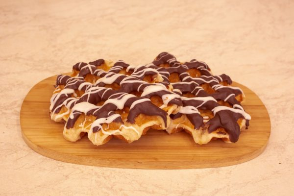 Wafel chocola puur 1 stuk